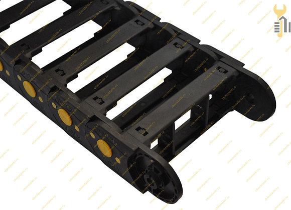 Кабель-канал с вертикальным сепаратором