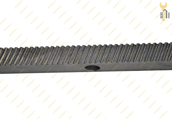 Зубчатая рейка косозубая RH1-1520, m 1, 15х20 мм.