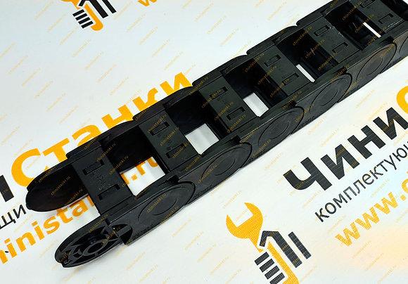 Гибкий кабель-канал JIN AO, 35х50 мм, K.3500.50.100