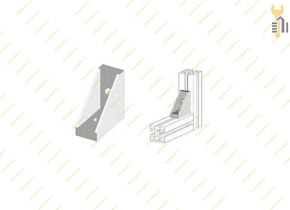 Угловой соединитель алюминиевого профиля 20х40