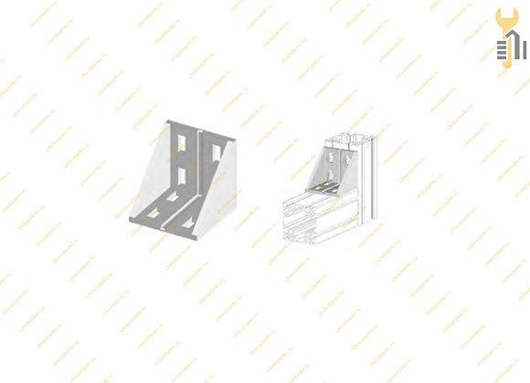 Угловой соединитель 80х80