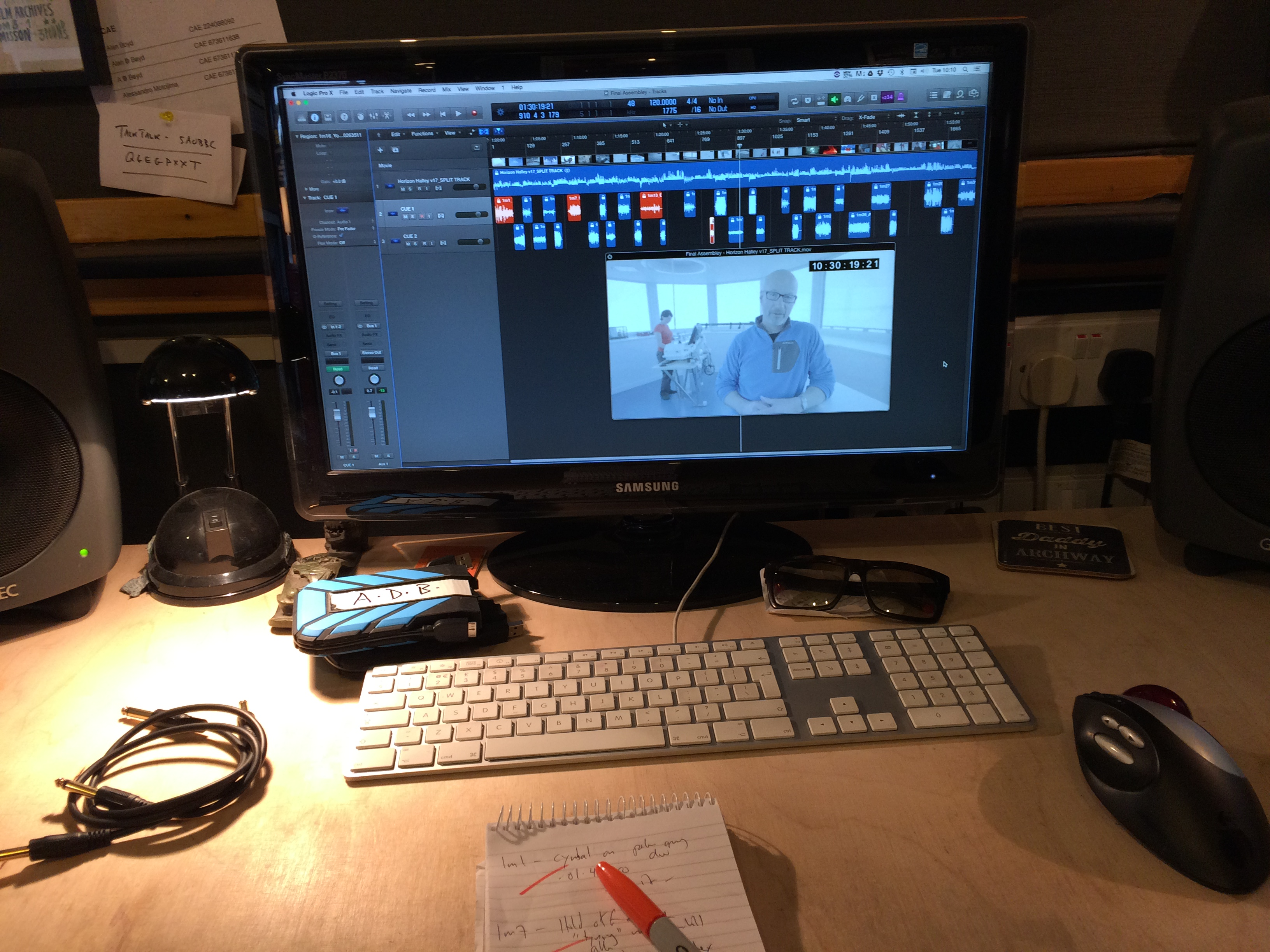 Scoring BBC Horizon