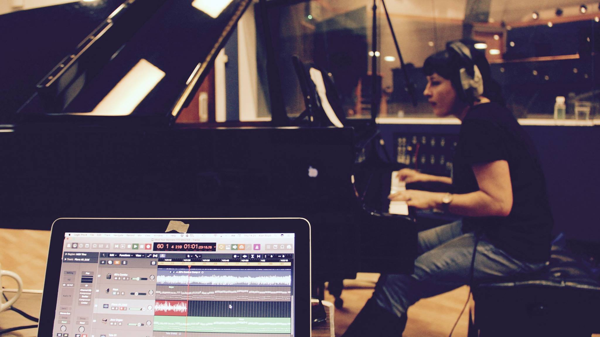 Piano Recording at Air-Edel