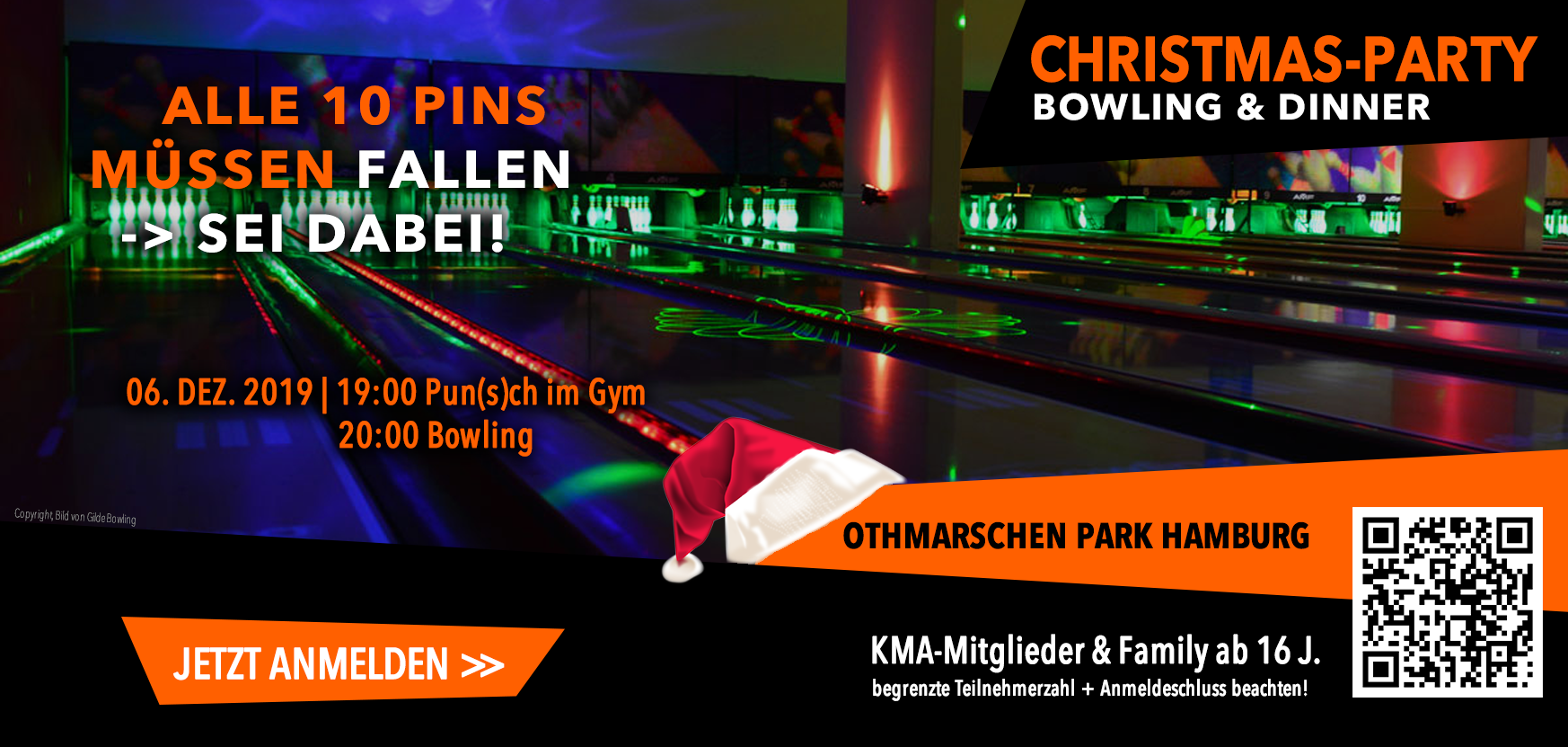KMA Weihnachtsbowling