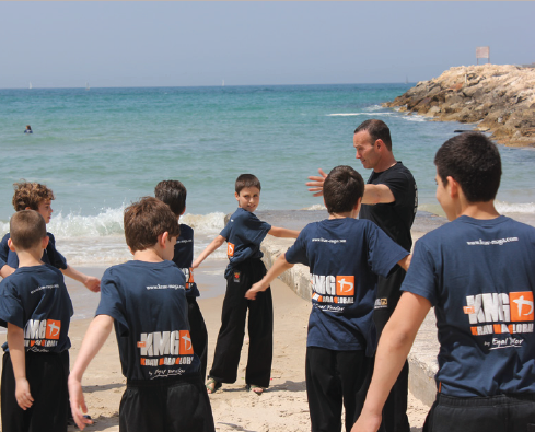 Kids-Training on the Beach