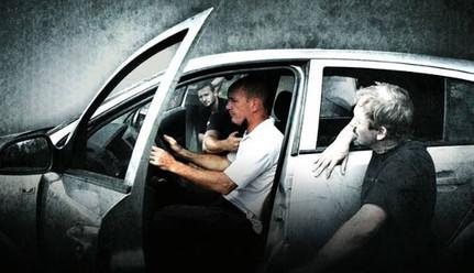 Verteidigung am und im Auto
