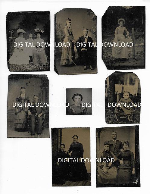 Digital Download Tintypes #2