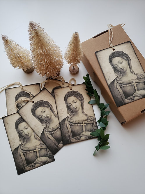 6 St. Marguerite Gift Tags