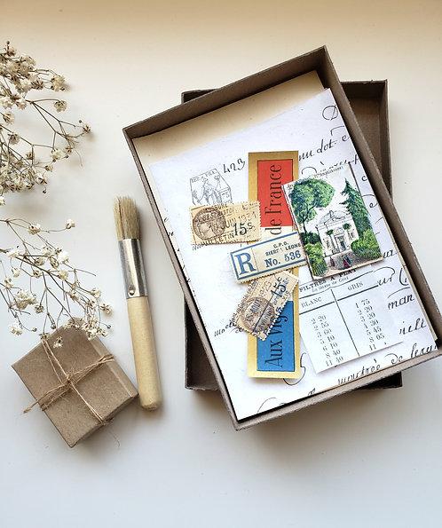 La French Ephemera Photo Box #1