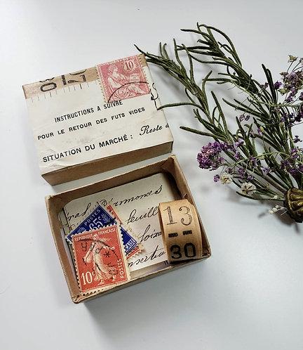 Altered Box French Ephemera #RN7