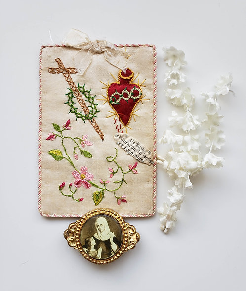 Vintage Embroidered Reliquary Collection