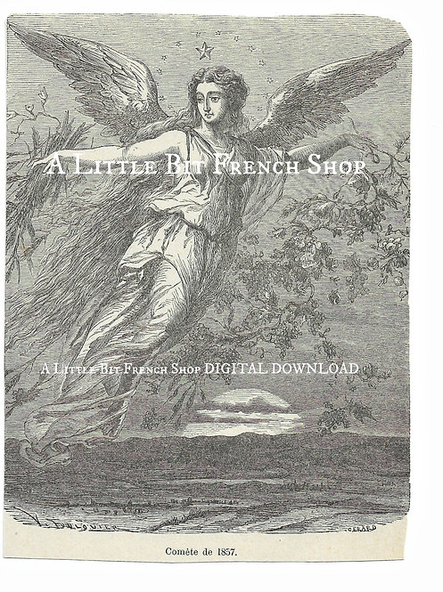 Digital Download Angel Engraving 02
