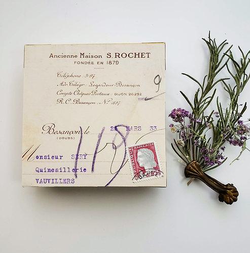 Altered Box French Ephemera #AMR
