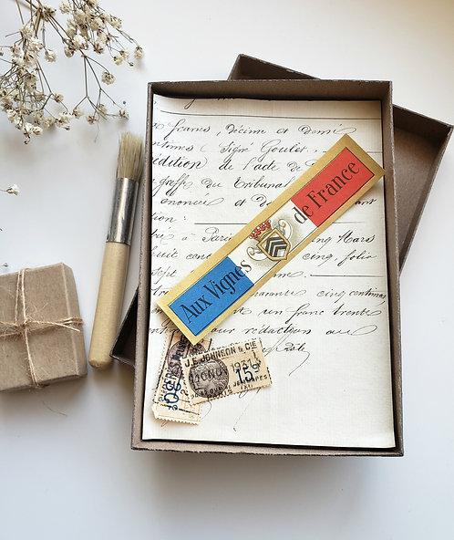 La French Ephemera Photo Box #3