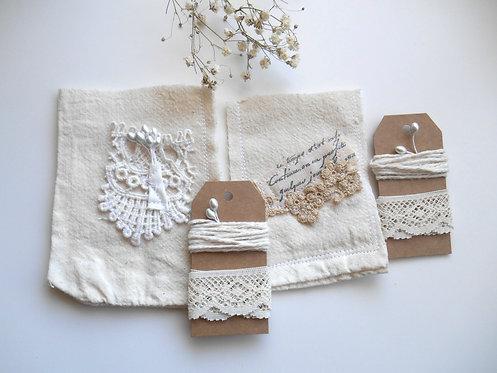 2 Stitched Shabby Pockets #3