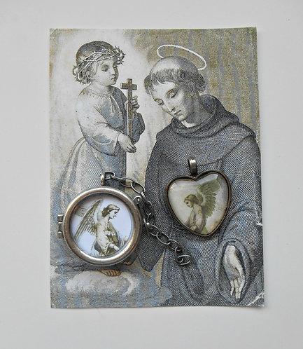 2 Angel Pendant / Locket