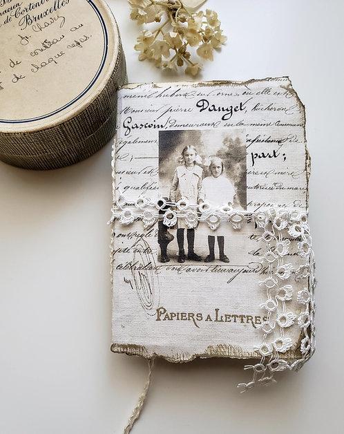 Junk Journal Papiers a Lettres