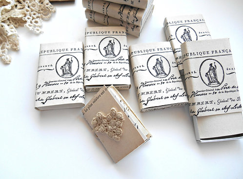 Mini Matchbox Journal