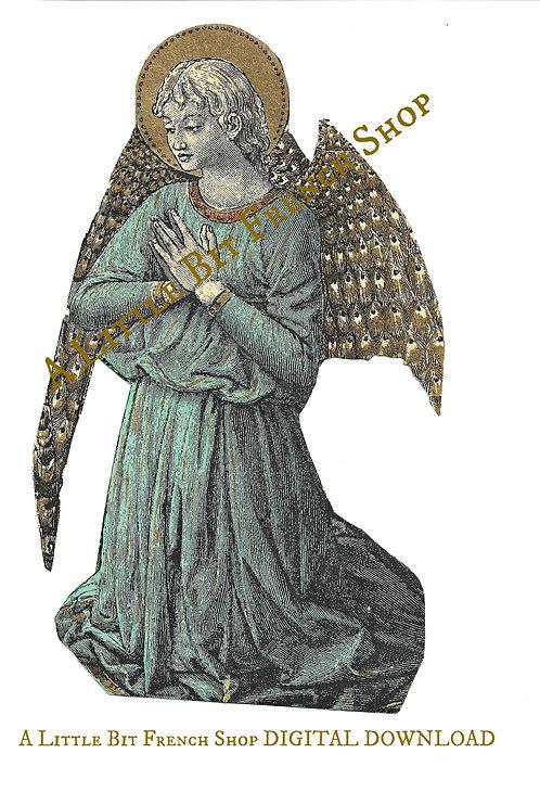 Digital Download Antique Angel 01