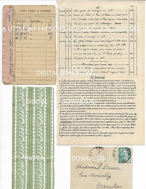 Digital Download Vintage French