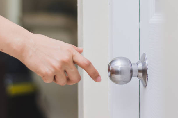 The Front Doorknob is likely to be contaminated with Coronavirus