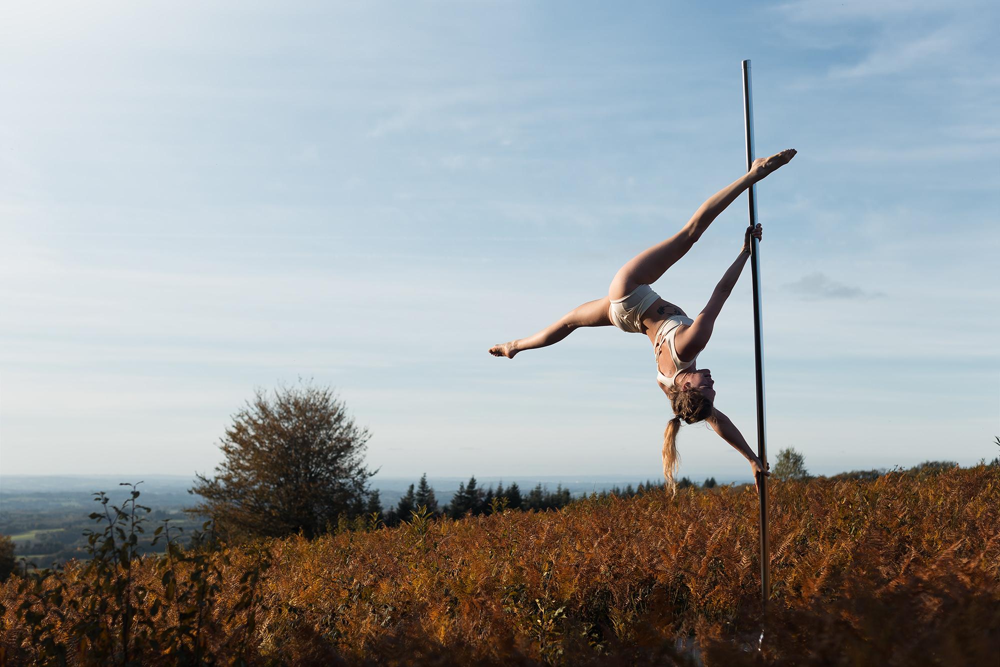 Sophie Mont Gargan Pole Dance Limoges
