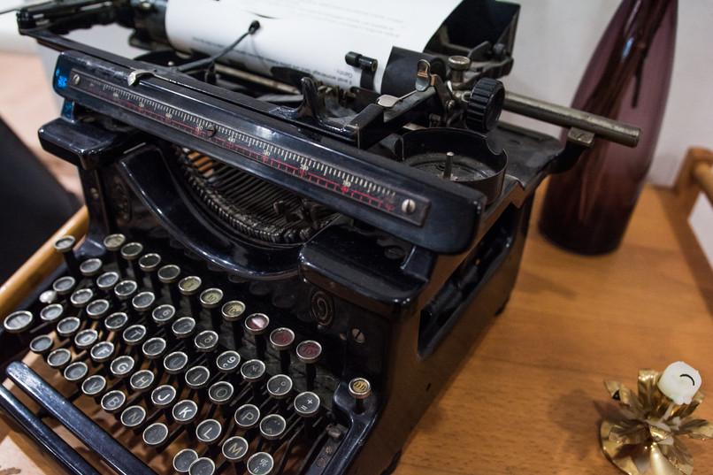 Jolie machine à écrire décoration vintage