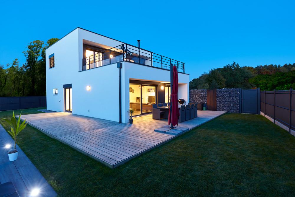 booa constructeur maisons modernes individuelles à toit-terrasse