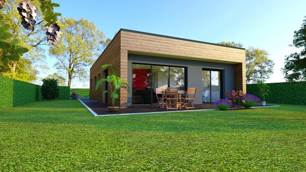nouveau projet booa constructeur maisons ossature bois design prix direct fabricant. Black Bedroom Furniture Sets. Home Design Ideas