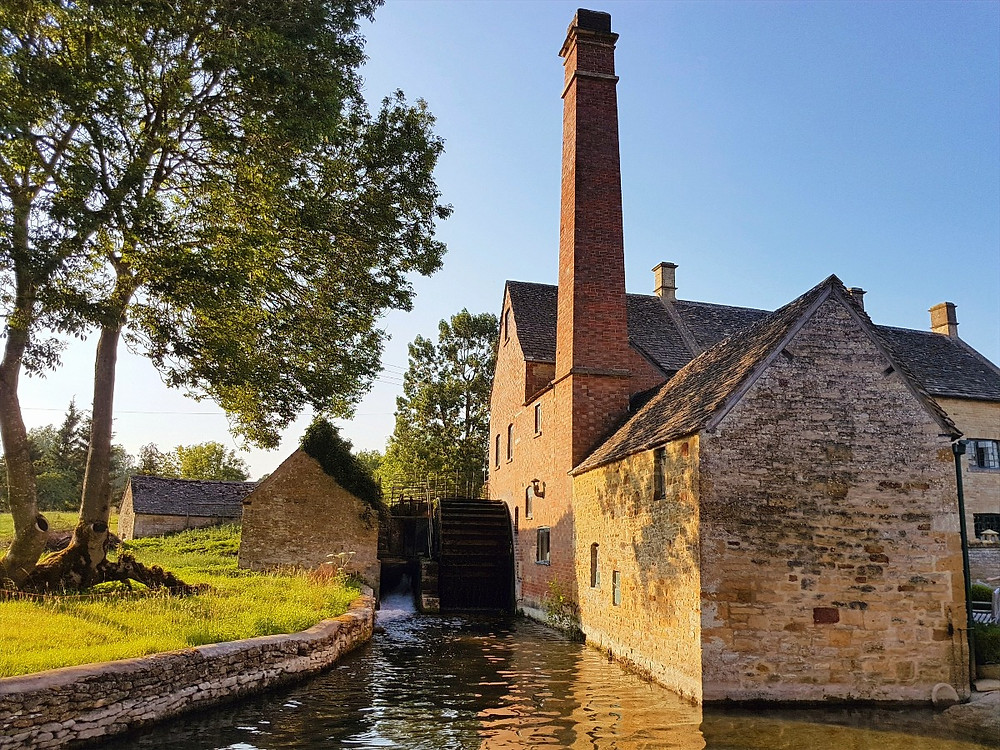 Water-powered mill in Lower Slaughter