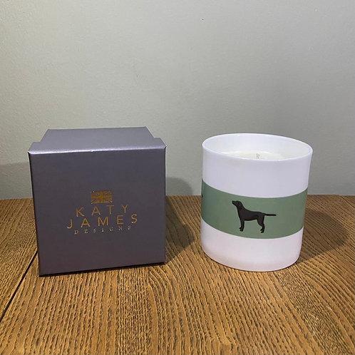 Black Labrador Candle - Vanilla