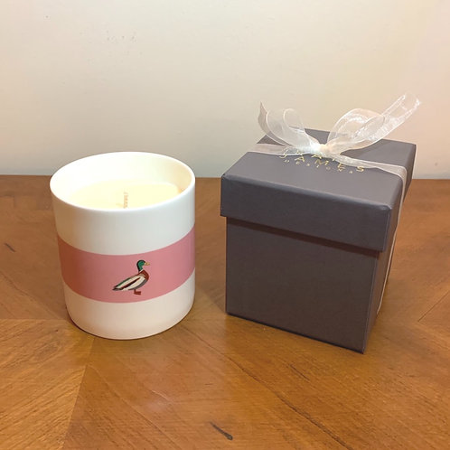 Mallard Duck Candle - Rhubarb and Plum
