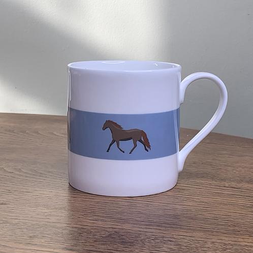 """Horse Mug """"Foxy"""""""
