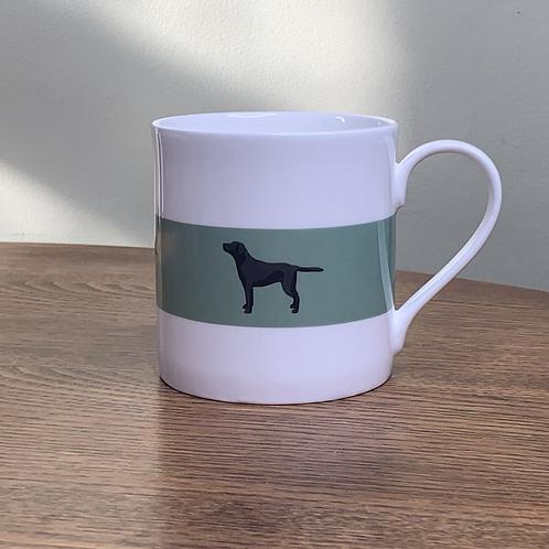 "Black Labrador Mug ""Pippa"""