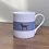 "Thumbnail: Chocolate Labrador Mug ""Fudge"""