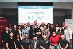 Foto participantes en Demo Day