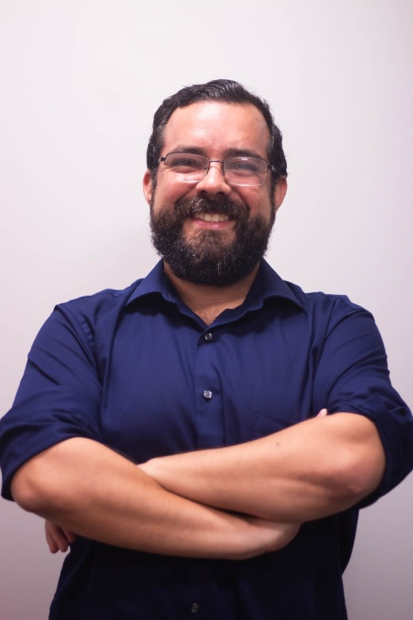 Gonzalo Mena - facilitador del evento
