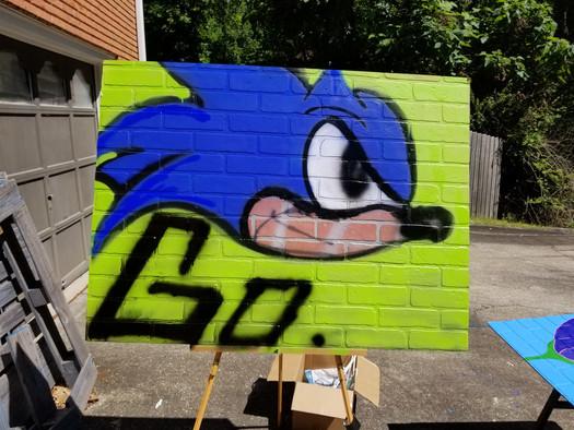 Practice Spray Art