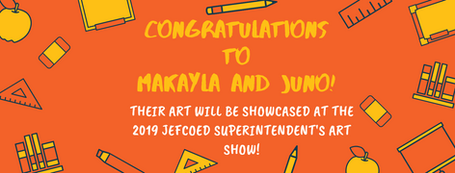 THEIR ART WILL BE showcased at THE 2019