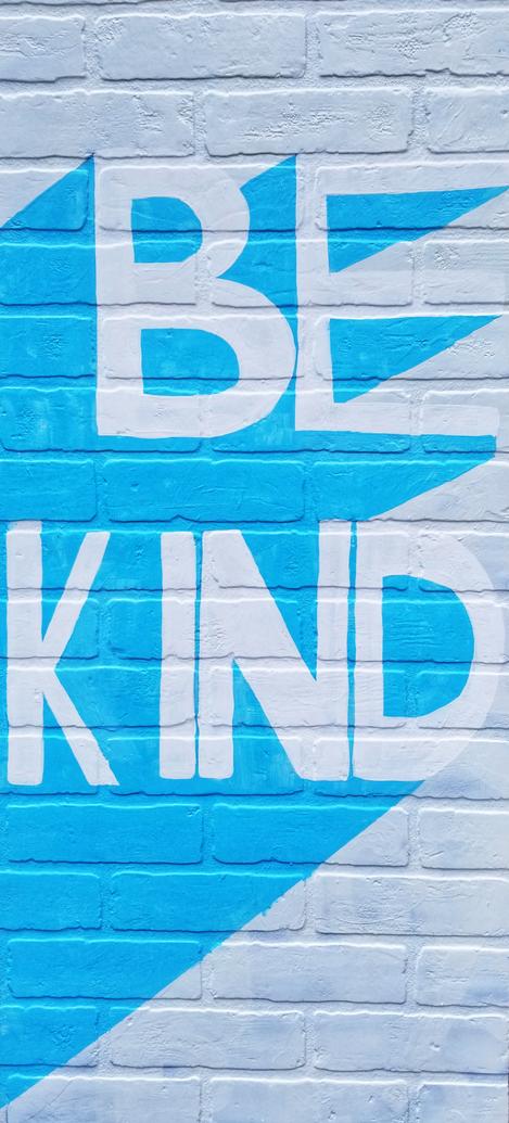 Illartpeace, Be Kind, 2019, Mixed Media on board, 24in x 4ft, Birmingham, AL