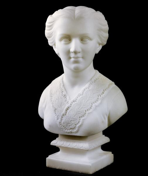Edmonia Lewis, Anna Quincy Waterson, 1866, Marble, 11 7/8 x 7 1/4 x 5 1/8 in, Smithsonian American Art Museum