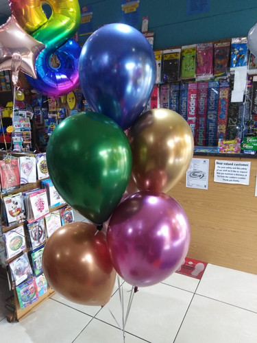 Chrome balloons R22.00
