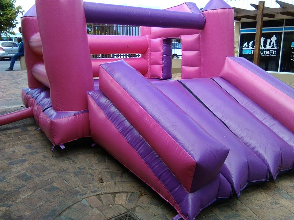 Pink Jumping Castle Party Time Somerset