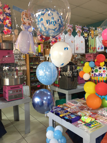 Foil and bobo R140 +R70 each for balloon