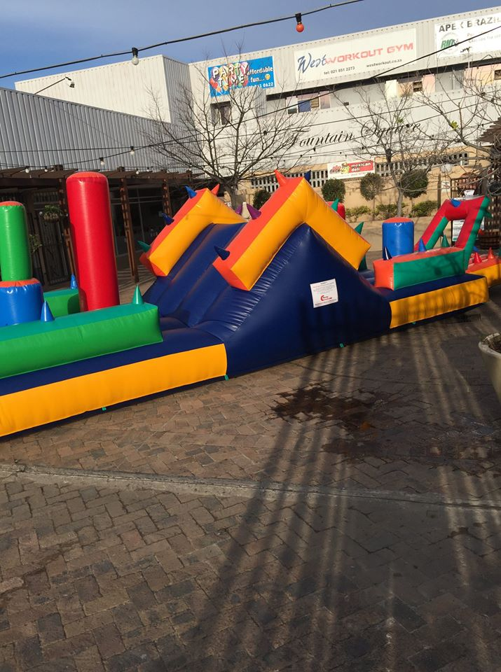 Obstacle Course Party Time Somerset West