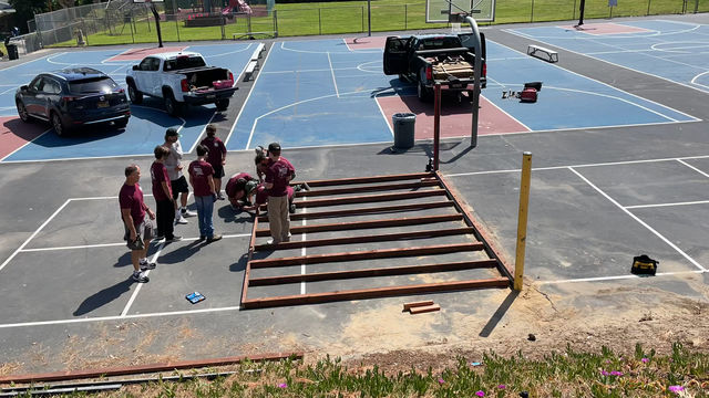 4/17/21 Eagle Scout Project in Time Lapse... Watch this, it's Great!