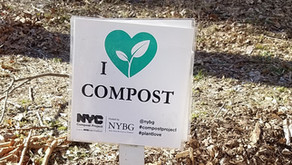 NYBG's CRAZY FOR COMPOST EVENT  MARCH 13TH 10AM-1PM