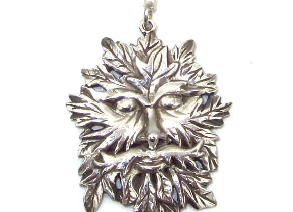 The Green Man Necklace