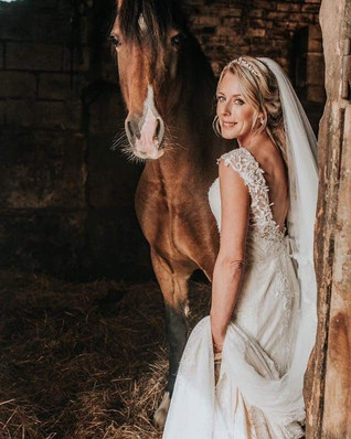 Real bride - Rebecca