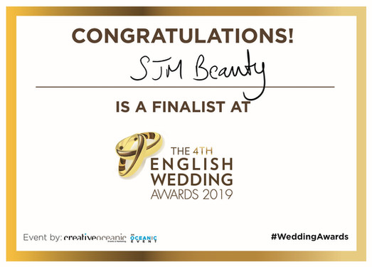 Finalist for the 4th English Wedding Awards